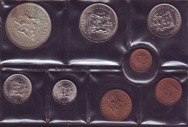 1973 Uncirculated  Set 1c to R1