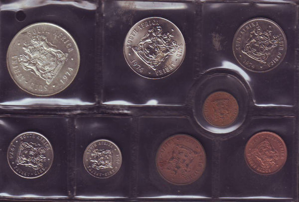 1974  Uncirculated Set 1c to R1