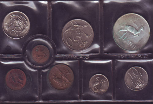 1975  Uncirculated Set 1c to R1