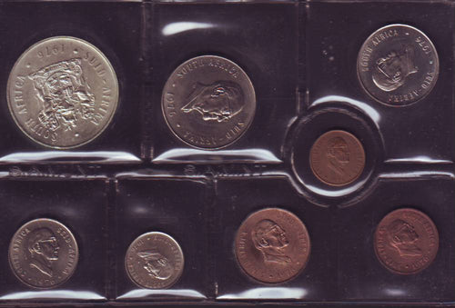 1976 Uncirculated  Set 1c to R1