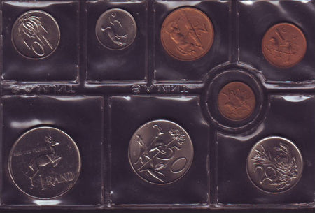 1987 Proof Set 1c to R1