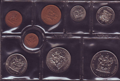 1977  Uncirculated Set 1c to R1