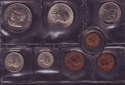 1979  Uncirculated Set 1c to R1