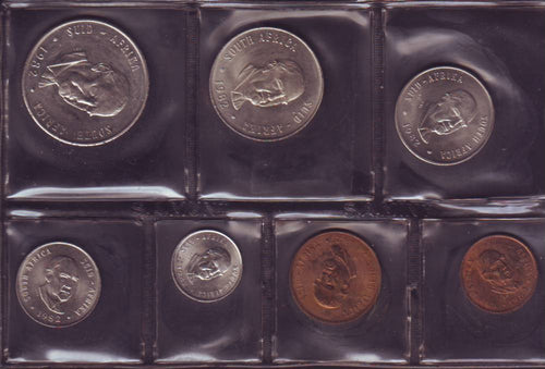 1982  Uncirculated  Set 1c to R1