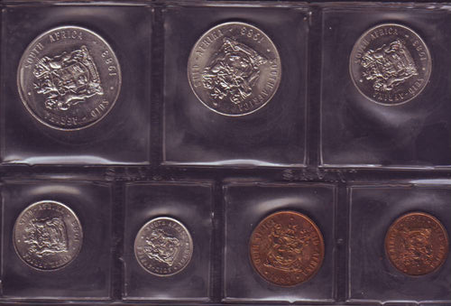 1983  Uncirculated Set 1c to R1