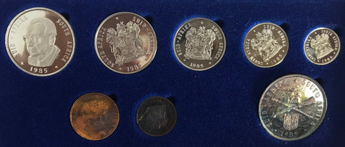 1985 Proof Set 1c to R1