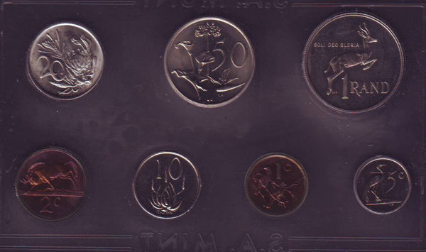 1987 Uncirculated Set 1c to R1