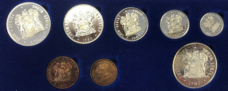 1968 Uncirculated  Set 1c to R1