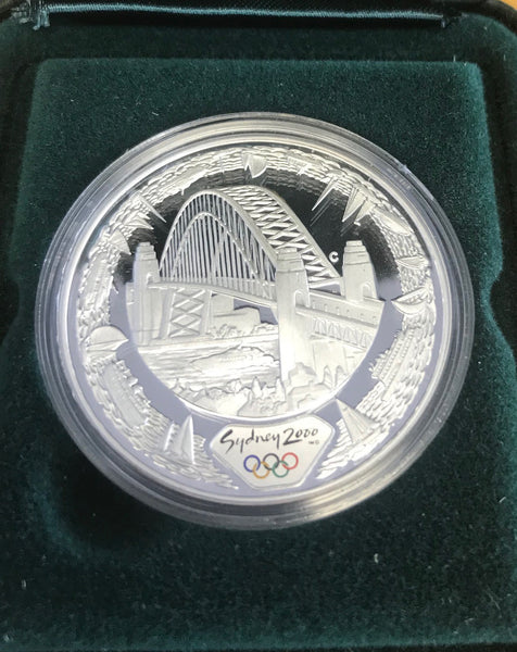 AUSTRALIA - SYDNEY 2000 OLYMPICS -SILVER COIN SERIES - Harbour of Life - Water