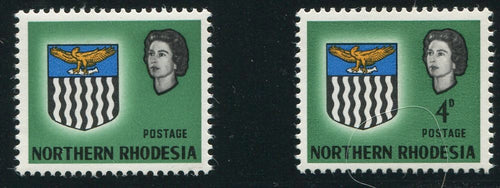 NORTHERN RHODESIA 1963 4d VALUE OMITTED