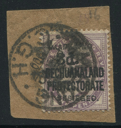 MAFEKING 1900 3d on 1d - USED ON PIECE - SG 12