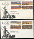1975 TOURISM FDC MISSING TOP LINE OF  'AFRIKAANS