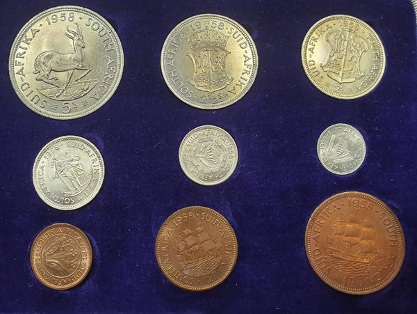 SA 1958 PROOF SET - SCARCE