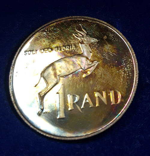 SA 1987 PROOF SILVER ONE RAND