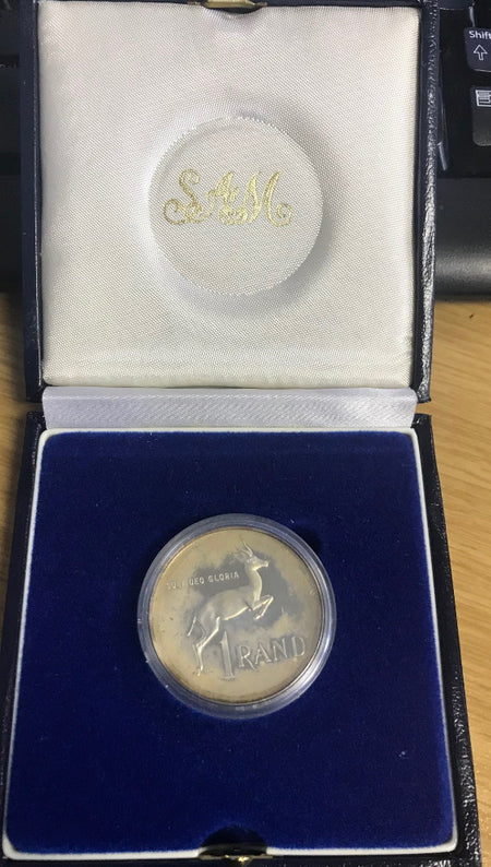 2002 PROOF SILVER RAND - WORLD SUMMIT