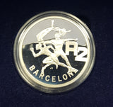 SA 1992 BARCELONA OLYMPICS SILVER TWO RAND ONE OUNCE