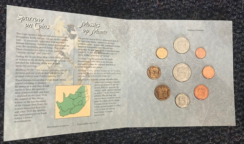 1994 Brilliant Uncirculated Set 1c to R5