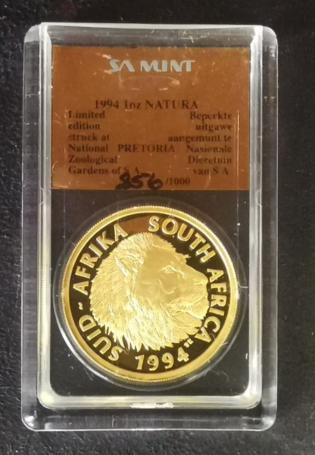 2003 LION NATURA ONE QUARTER OUNCE GOLD  - SCARCE!