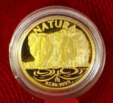 NATURA 1994  ONE TENTH OUNCE GOLD - LION