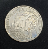 1995  UNC SILVER RAND - RAILWAYS
