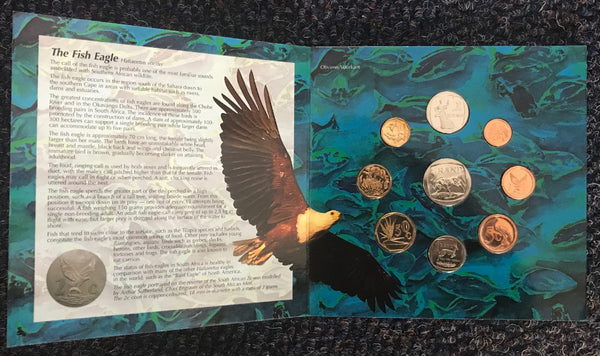 1995 Brilliant Uncirculated Set 1c to R5