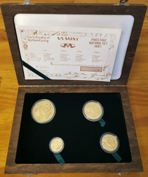 1997 NATURA BUFFALO' PRESTIGE GOLD SET