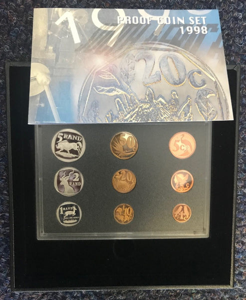 1998 PROOF SET 1c-R5