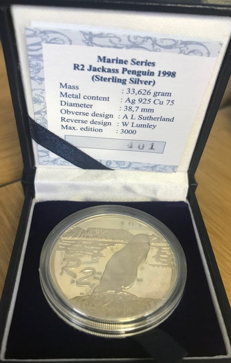 SA 1991 NURSING PROOF SILVER ONE RAND