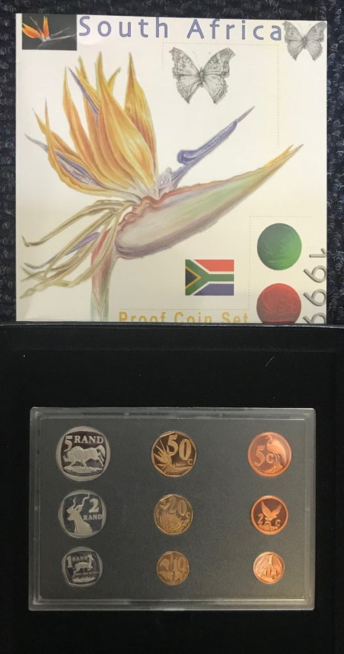 1999 PROOF SET 1c-R5