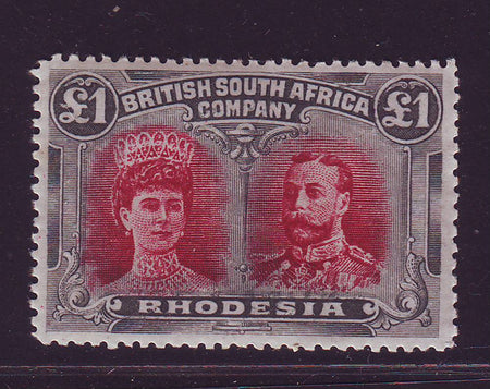 RHODESIA 1910 2d DOUBLE HEAD FINE UNMOUNTED MINT