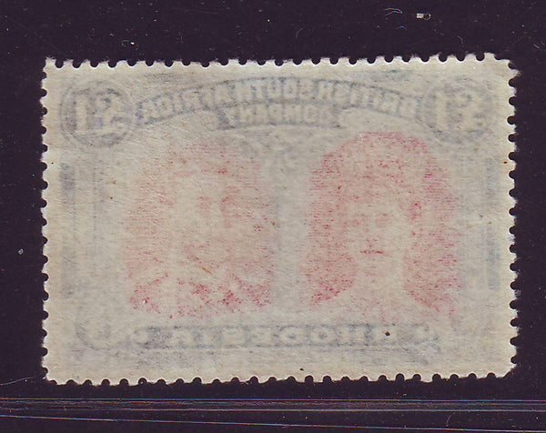 RHODESIA 1910 £1 DOUBLE HEAD FINE UNMOUNTED MINT