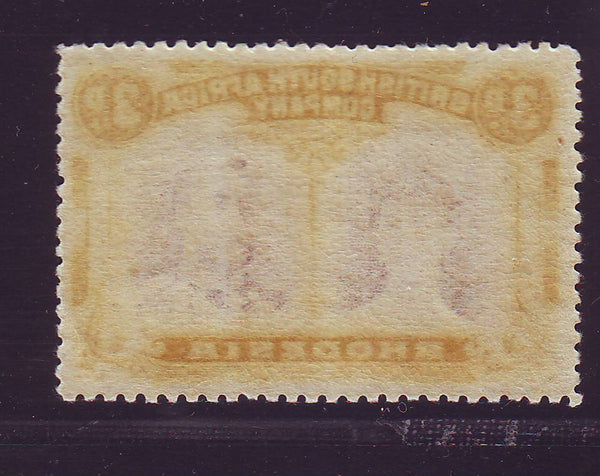RHODESIA 1910 3d DOUBLE HEAD FINE UNMOUNTED MINT