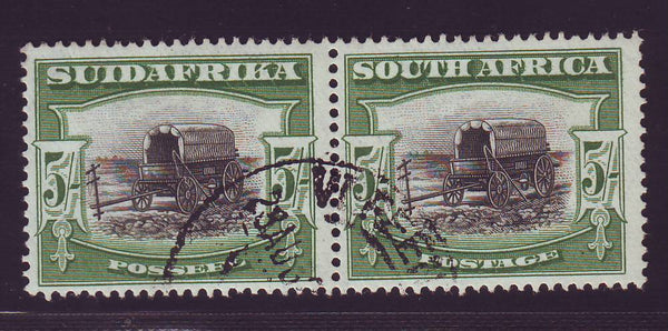 SA 1927 5/-  LONDON PRINTING SUPERB USED - SACC 38