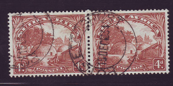 1932 ROTO 4d  REDDISH-BROWN FINE USED- SACC 47