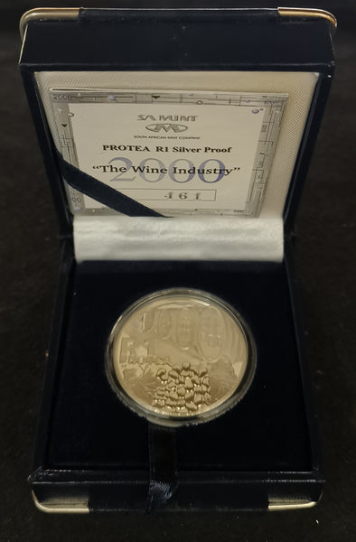 2000 PROOF SILVER RAND - WINE INDUSTRY