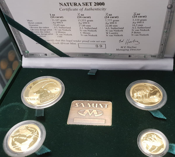 2000 NATURA SABLE PROOF SET