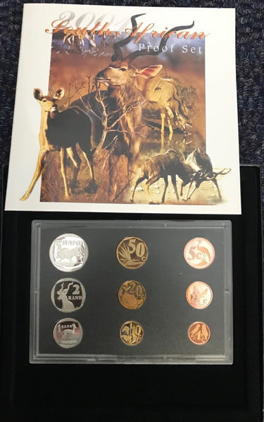 2001 PROOF SET 1c-R5