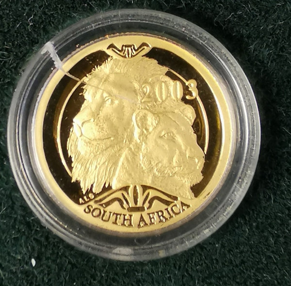 2003 NATURA  PROOF LION ONE TENTH