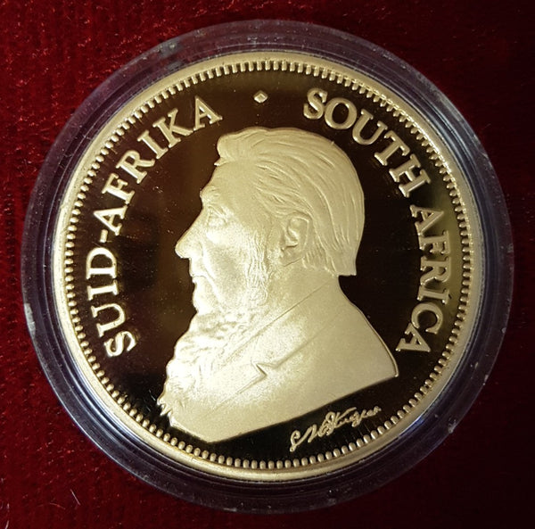 2004  LAUNCH KRUGERRAND - INTERNATIONAL EDITION - ONLY 200 PRODUCED