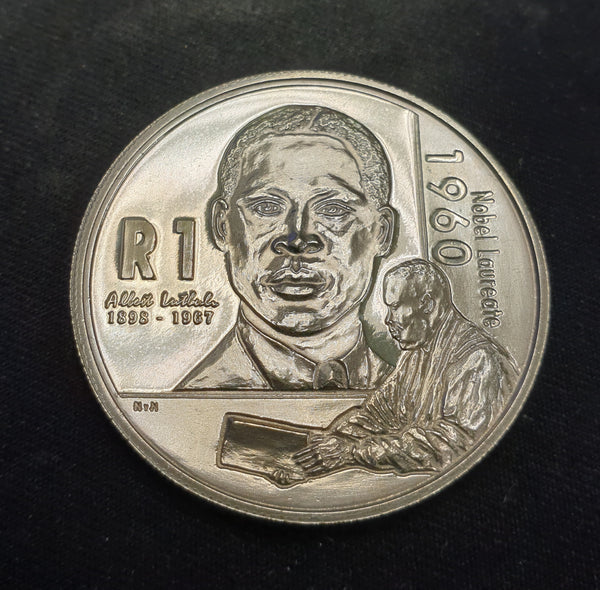 2005 UNC SILVER RAND - LUTHULI