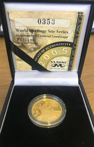 2005 RSA WORLD HERITAGE PROOF R2 - CULTURAL LANDSCAPE