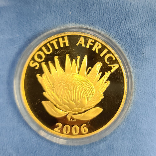 2006 NOBEL PRIZE WINNERS PROTEA PROOF ONE  OUNCE GOLD -TUTU