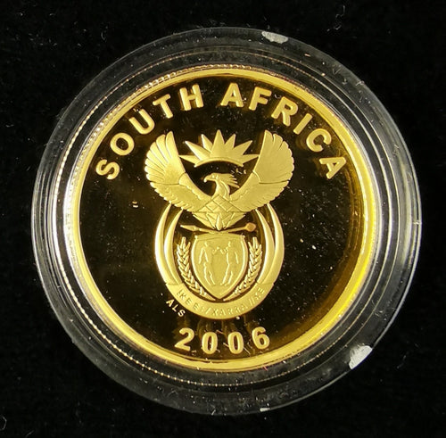2006   PROOF R2 CRADLE OF HUMANKIND  QUARTER OUNCE ONLY 2000 MADE