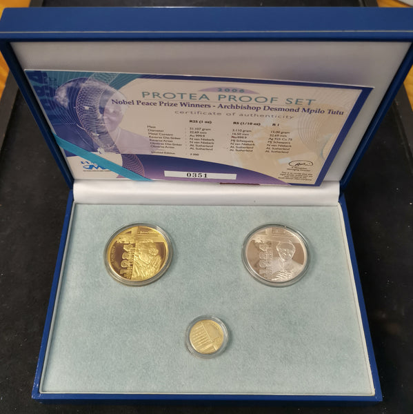 2006 TUTU PROTEA  GOLD SET