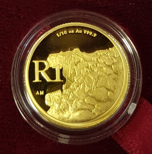 2007 ONE RAND ONE TENTH OUNCE GOLD - CULTURAL SERIES