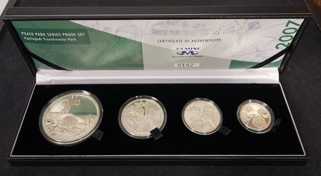 1982 Proof Set 1/2c to R1