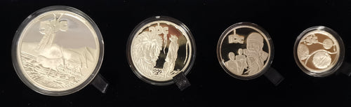 2006 PR0OF SILVER SET IN VELVET CASE -  KGALAGADI