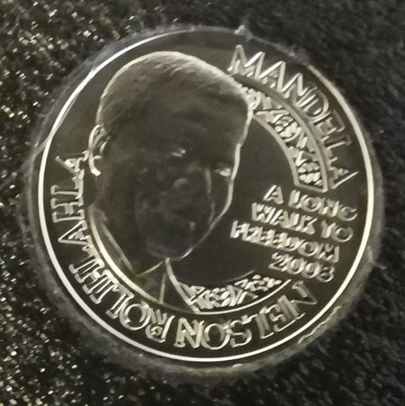 2014 MANDELA DAY MINT OF NORWAY 1/4 OUNCE FINE GOLD