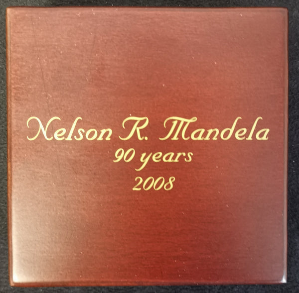 MINT OF NORWAY  ONE TENTH OUNCE PROOF MANDELA  PLATINUM