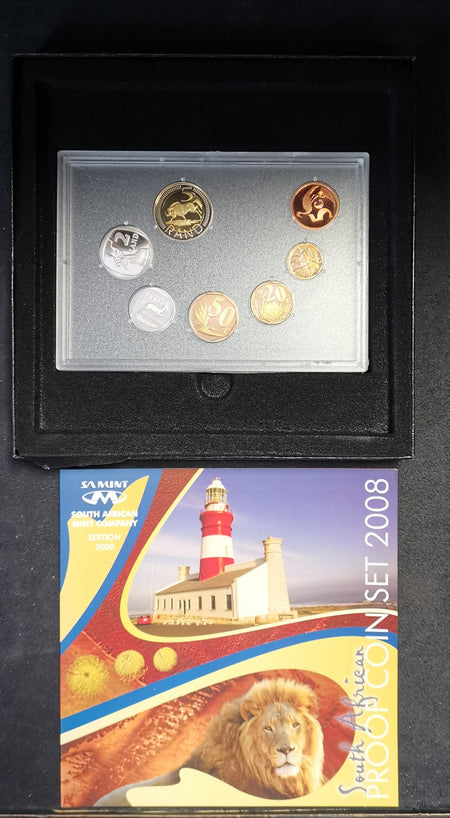 1986 Proof Set 1c to R1